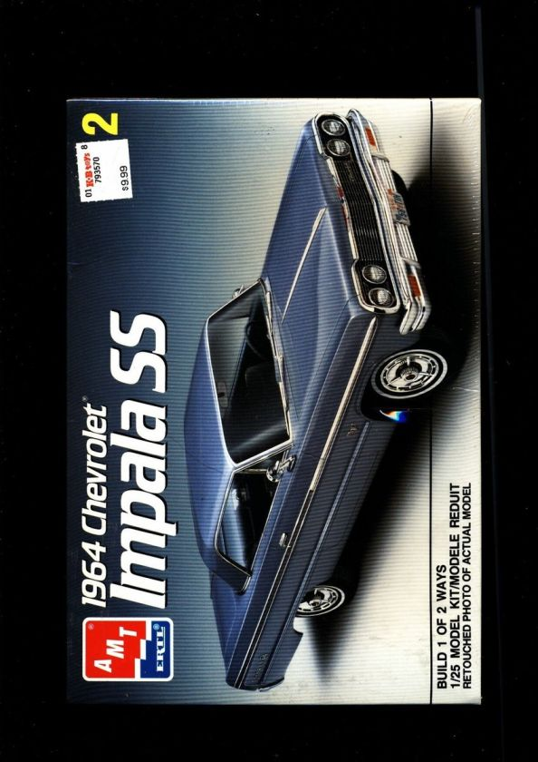 AMT ERTL 1964 CHEVY IMPALA SS 125 MODEL KIT MINT FACTORY SEALED M0904