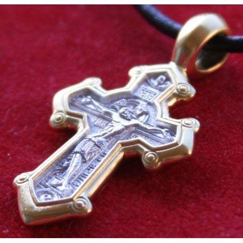 Crucifixion Mortyr Dimitry Solunsky Warrior Cross Icon