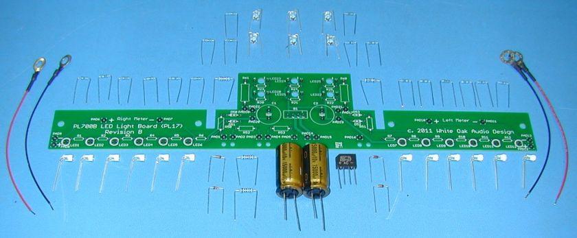 phase linear 700b amplifier 18 led light upgrade kit pl 700 pl 700