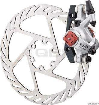 Avid BB7 Road Disc Brake Caliper & 140mm G2 Rotor Platinum Rear